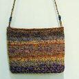 手編みのショルダー
