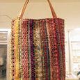 模様織りカバン