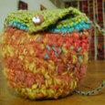 編みのミニミニかばん