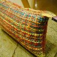 いろいろ色織りポーチ