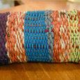 ざっくり織りのポーチ