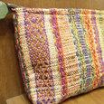 ポーチ 模様織り